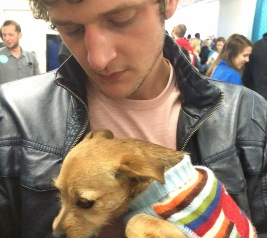 Back from SXSW and beyond 20%! (and homeless puppies….)